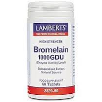 Lamberts Bromelain 400mg (1000 GDU) 60tabs