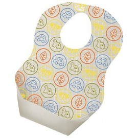 Tommee Tippee 20 Disposable Bibs with crumb catcher 4m+