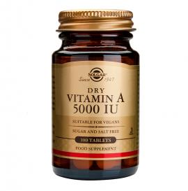 Solgar Vitamin A 5.000 IU dry tabs 100s