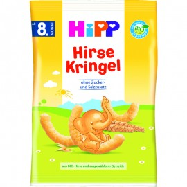 Hipp Παιδικά Γαριδάκια από Κεχρί 8m+ 30gr