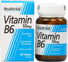 Health Aid Vitamin B6 100mg 90ταμπλέτες