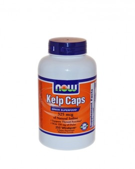 Now Kelp Caps 325mcg  250 κάψουλες