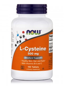 Now L-Cysteine 500mg 100 tabs