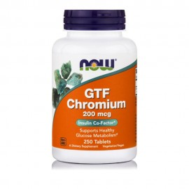 Now GTF Chromium 200mcg 250 ταμπλέτες