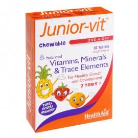 Health Aid Junior-Vit 30 μασώμενες ταμπλέτες
