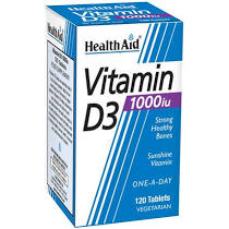 Health Aid Vitamin D3 1000iu 120 tablets