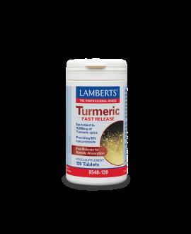 Lamberts Turmeric Fast Release 120tabs