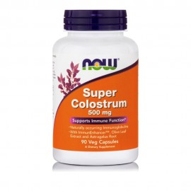 Now Super Colostrum 500mg 90 Vcaps