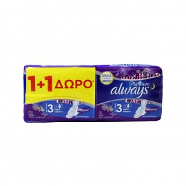 Always Platinum Ultra Night Size 3 (1+1) 12 τεμάχια