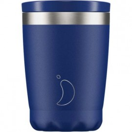 Chillys Coffee Cup Matte Blue 340ml
