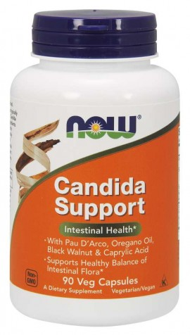 Now Candida Support 90 caps