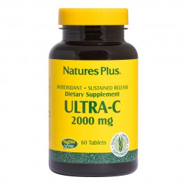 NaturesPlus Ultra C 2000 mg S/R Rose Hips 60 tabs