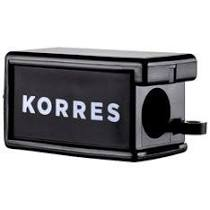 Korres Ξύστρα Μολυβιών Black 1 τεμάχιο