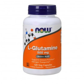 Now L-Glutamine 500mg 120 κάψουλες