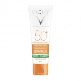 Vichy Capital Soleil Mattifying 3 in 1 Daily Shine Control Care SPF50+ 50ml