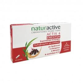 Naturactive Activ 4 Ενίσχυση της Άμυνας του Οργανισμού 28caps