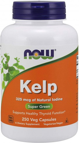 Now Kelp Caps 325mcg  250 κάψουλες