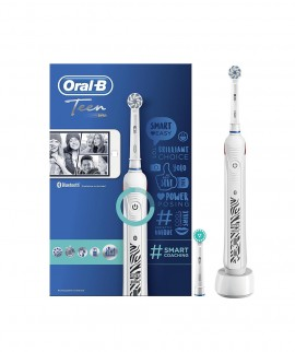 Oral-B Power Teen Smart Coaching Zebra White