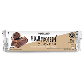 Power Health Healthy & Tasty High Protein Dessert Bar Με Γεύση Σοκολάτας 35gr