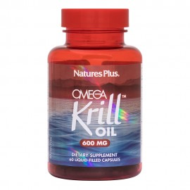 Natures Plus Omega Krill Oil 600mg 60 μαλακές κάψουλες
