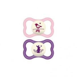 Mam Air Night Animal Pink-Purple 16m+ 2τμχ