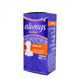 Always Dailies Singles Normal 20 τμχ