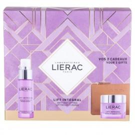 Lierac Promo Lift Integral Serum 30ml & ΔΩΡΟ Lift Integral Cream 50ml & Δερμάτινο Πορτοφόλι
