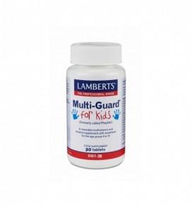 Lamberts Multi-Guard For Kids 30ταμπλέτες