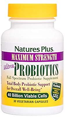 NaturesPlus Ultra Probiotics 30 φυτικές κάψουλες
