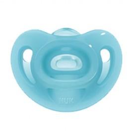 Nuk Sensitive Πιπίλα Σιλικόνης Blue 6-18m 1τμχ