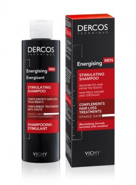 Vichy Dercos Homme Shampooing Energisant 200ml
