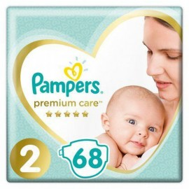 Pampers Premium Care No2 (4-8kg) 68 πάνες