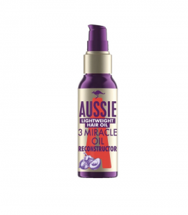 Aussie 3 Miracle Oil Reconstructor Lightweigtht Hair Oil 100ml