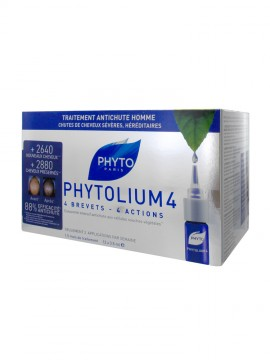 Phyto Phytolium 4 Densifying Treatment Serum Men 12 x 3.5ml