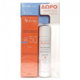Avene Promo Dry Touch Fluide SPF50+ 50ml & Eau Thermale Spray 50ml