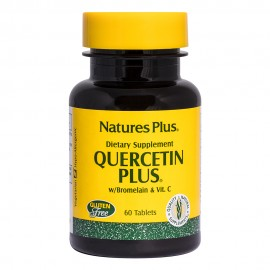 NaturesPlus Quercetin Plus with Vitamin C & Bromelain 60 Tablets