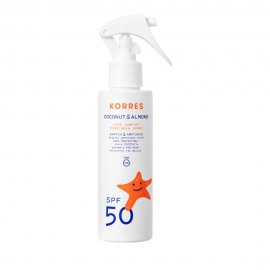 Korres Kids Sensitive Sunscreen Spray SPF50 Coconut & Almond 150ml
