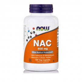 Now Nac 600mg 100 vcaps
