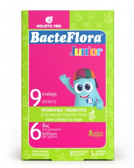 HolisticMed BacteFlora Junior 30 φακελάκια