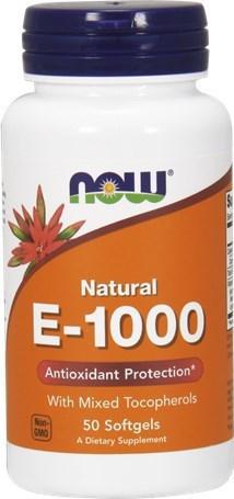 Now Bιταμίνη Ε 1000IU 50 softgels