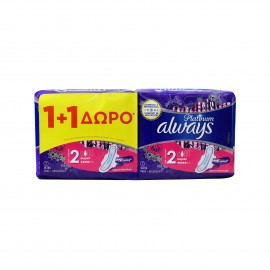 Always Platinum Ultra Super Plus Size 2 (1+1) 14 τεμάχια