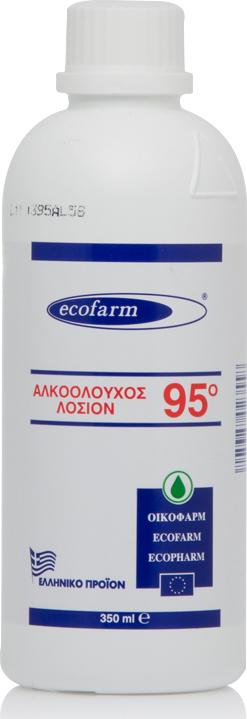 Ecofarm Αλκοολούχος Λοσιόν 95˚ 350ml