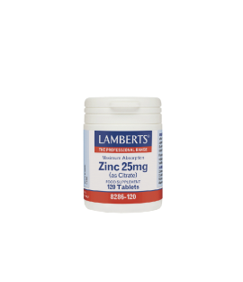 LAMBERTS Zinc 25mg 120ταμπλέτες