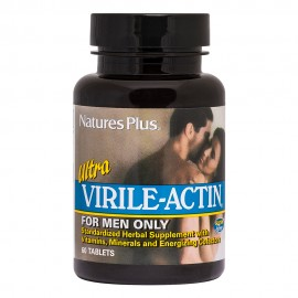 NaturesPlus Ultra Virile-Actin 60 Ταμπλέτες