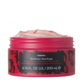 KORRES Red Berries Dual Hualuronic Multi Action Body Souffle 200ml