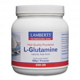 Lamberts L-Glutamine 500g Powder