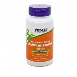 Now Ashwagandha Extract 450mg 90 Veget.caps