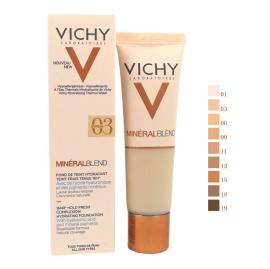 Vichy Mineralblend Fond De Teint Hydratant 03 Gypsum 30ml