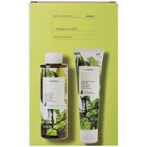 Korres Happy to Gift Set Shower Gel Αφρόλουτρο Πράσινο Τσάι 250ml & Body Milk Γαλάκτωμα Σώματος Πράσινο Τσάι 125ml