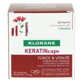 Klorane Quinine Με Κινίνη KERATIN 30caps